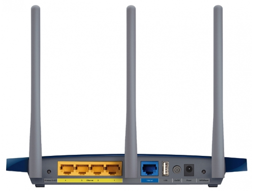 Роутер WiFi TP-LINK TL-WR1045ND, вид 4