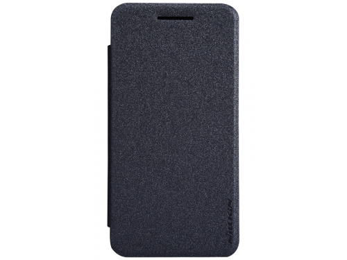 Чехол для смартфона Nillkin Sparkle leather case для Asus ZenFone 4 (A450CG), кожа, чёрный, вид 1