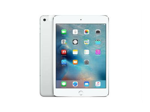 Планшет Apple iPad mini 4 128Gb Wi-Fi + Cellular MK772RU/A серебр., вид 1