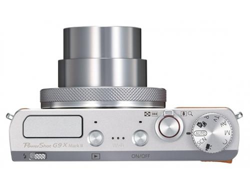 Цифровой фотоаппарат Canon PowerShot G9 X Mark II, серебристый, вид 1