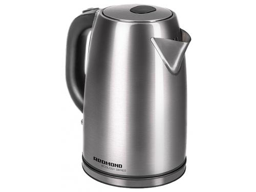 Чайник электрический Redmond RK-M182, серебристый матовый, вид 1