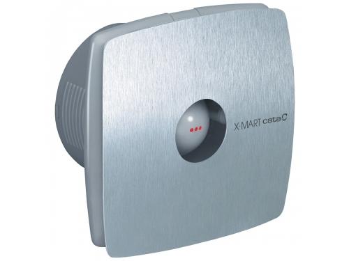 Вентилятор Cata X-Mart 10 Inox Timer, серебристый, вид 1