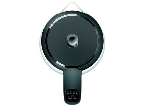 Чайник электрический Redmond RK-G200S (стекло), черный, вид 4