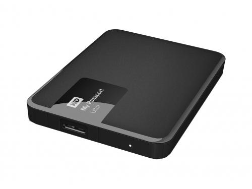 Жесткий диск Western Digital MY Passport ULTRA 1000 Gb (WDBDDE0010BBK-EEUE), чёрный, вид 1