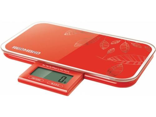 Кухонные весы Redmond RS 721 красные, вид 1