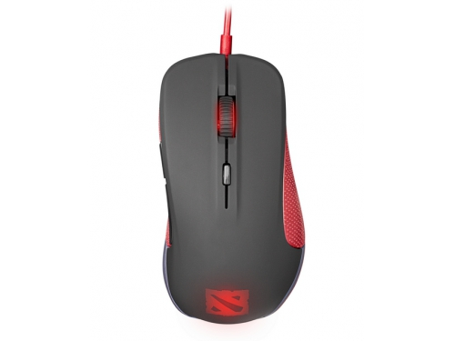 Мышка SteelSeries Rival Optical Mouse Black USB, Dota 2, вид 3
