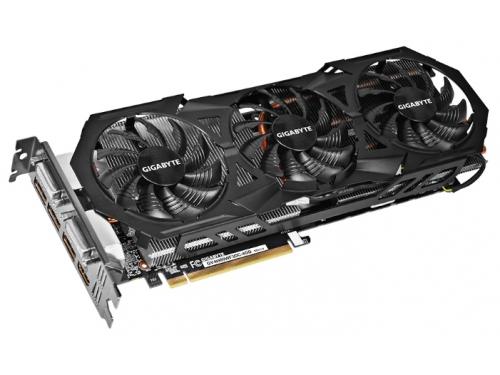 Видеокарта GeForce GIGABYTE GeForce GTX 980 1178Mhz PCI-E 3.0 4096Mb 7000Mhz 256 bit 2xDVI HDMI HDCP, вид 1