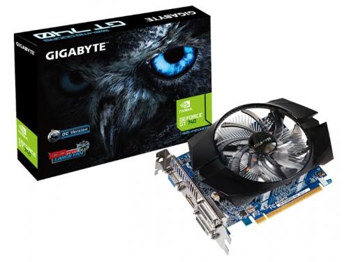 ���������� GeForce Gigabyte PCI-E NV GV-N740D5OC-1GI GT740 1GB DDR5, ��� 1