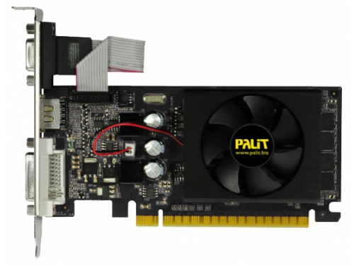 Видеокарта GeForce Palit PCI-E NV GT610 2Gb 64bit DDR3 NEAT6100HD46-1196F, вид 2