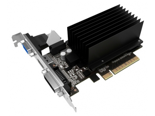 Видеокарта GeForce Palit PCI-E NV GT730 1GB DDR3 64bit NEAT7300HD06-2080H, вид 1