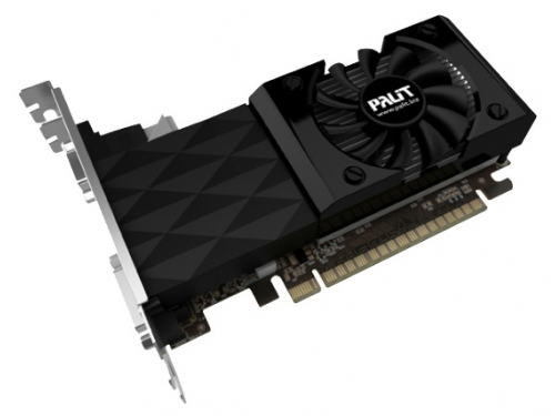 Видеокарта GeForce Palit PCI-E NV GT730 2GB DDR3 128bit NEAT7300HD41-1085F, вид 1