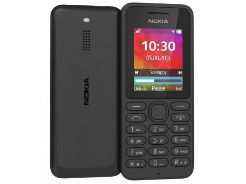 Сотовый телефон Nokia 130 Dual sim, чёрный, вид 1