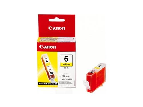 Картридж для принтера Canon BCI-6 Y, желтый, вид 1