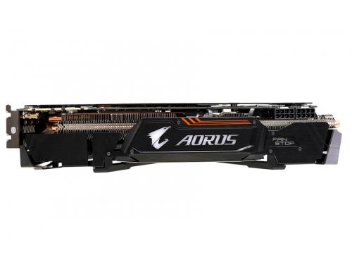 Видеокарта GeForce Gigabyte GeForce GTX 1080 1784Mhz PCI-E 3.0 8192Mb 10206Mhz 256 bit DVI 3xHDMI HDCP (GV-N1080AORUS X-8GD), AORUS xtreme edition, вид 5