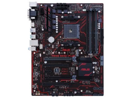 Материнская плата Asus Prime B350-Plus (DDR4 DIMM, USB 3.0, ATX), вид 2