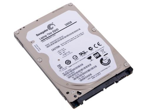 Жесткий диск Seagate ST500LM000 (SATAIII, 500Gb, 5400rpm, 2.5''), гибридный, вид 1