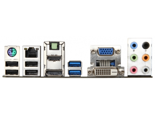Материнская плата MSI B85M-G43 Soc-1150 B85 DDRIII mATX SATA3  LAN-Gbt USB3.0 DVi/VGA/HDMI/DP, вид 2