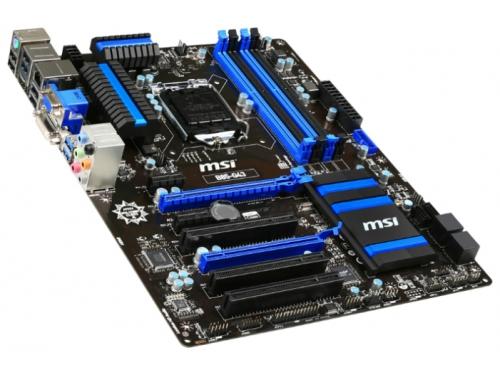 Материнская плата MSI B85-G43 Soc-1150 B85 DDRIII ATX SATA3  LAN-Gbt USB3.0 DVi/VGA/HDMI, вид 1