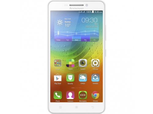 Смартфон Lenovo IdeaPhone A5000, белый, вид 1