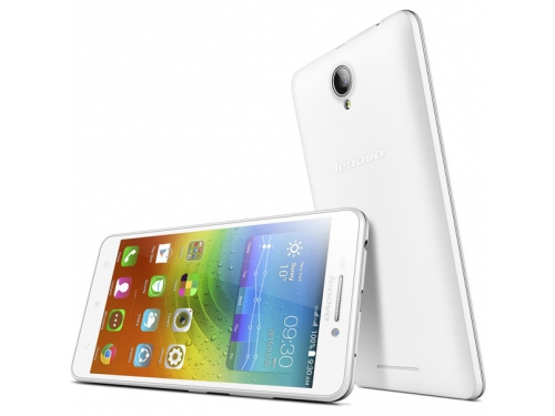 Смартфон Lenovo IdeaPhone A5000, белый, вид 3