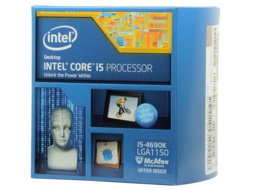 Процессор Intel Core i5-4690K Devil's Canyon (3500MHz, LGA1150, L3 6144Kb, Retail), вид 1