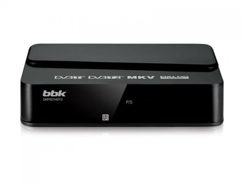 Tv-тюнер BBK SMP001HDT2, черный, вид 1