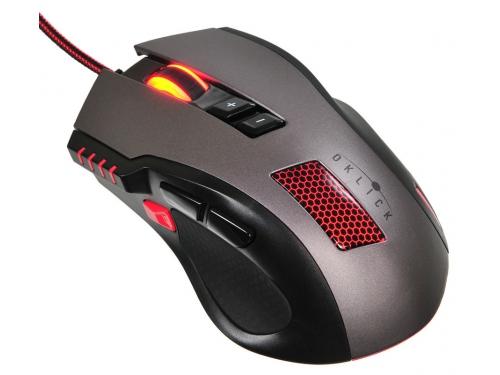 Мышка Oklick 805G V2, черная, вид 1