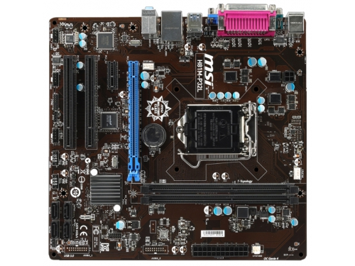 Материнская плата MSI H81M-P32L Soc-1150 H81, вид 1
