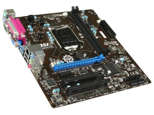 Материнская плата MSI H81M-P32L Soc-1150 H81, вид 3