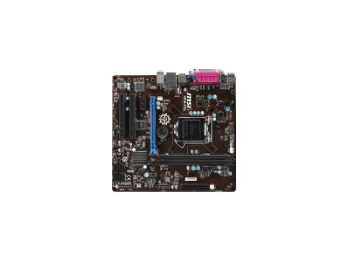 Материнская плата MSI H81M-P32L Soc-1150 H81, вид 2