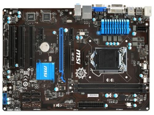 ����������� ����� MSI H81-P33 Soc-1150 H81 DDRIII ATX SATA3 USB3.0 VGA/DVI, ��� 1