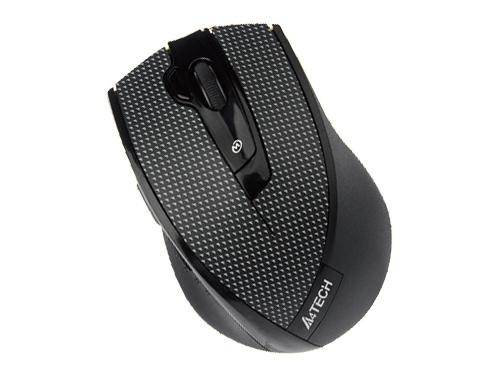 Мышка A4 Tech G10-730F-1 (Black Plaid), вид 1