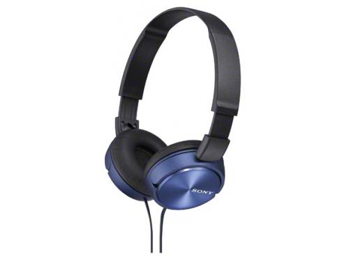 Наушники Sony MDR-ZX310/LQ(AE), синие, вид 2