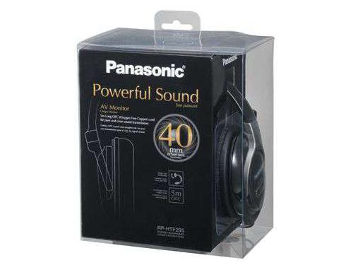Наушники Panasonic RP-HTF295 E-K, вид 2