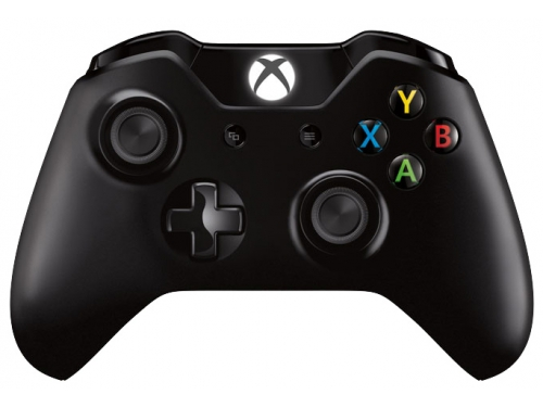 Геймпад Microsoft Xbox One Wireless Controller, чёрный, вид 2