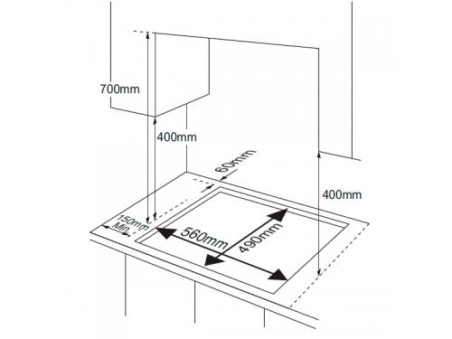 Варочная поверхность Samsung NA64H3010BK, вид 2