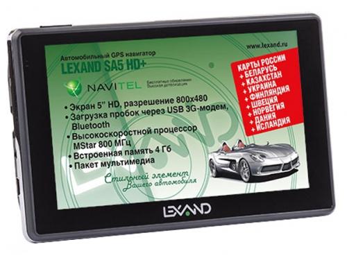 Навигатор Lexand SA5 HD+, вид 1