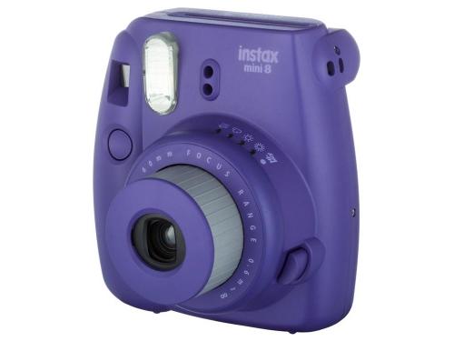 Фотоаппарат моментальной печати Fujifilm Instax Mini 8, фиолетовый, вид 1