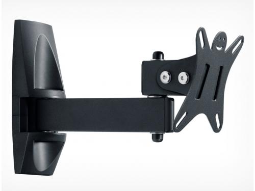 Кронштейн Holder LCDS-5004 (10-26'', 25 кг, настенный, наклон, поворот), графит, вид 1