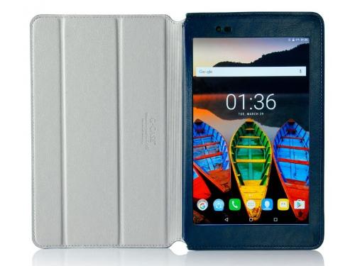 Чехол для планшета G-case Executive GG-792 (для Lenovo Tab 3 Plus 8.0 8703X/8703F), тёмно-синий, вид 3