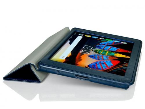 Чехол для планшета G-case Executive GG-792 (для Lenovo Tab 3 Plus 8.0 8703X/8703F), тёмно-синий, вид 4