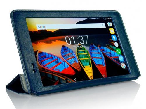 Чехол для планшета G-case Executive GG-792 (для Lenovo Tab 3 Plus 8.0 8703X/8703F), тёмно-синий, вид 5