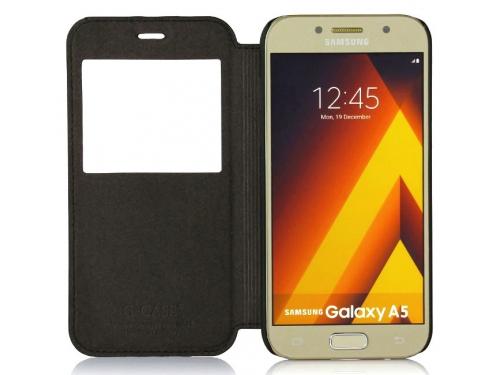 Чехол для смартфона G-case Slim Premium GG-796, для Samsung Galaxy A5 (2017) SM-A520F, чёрный, вид 3