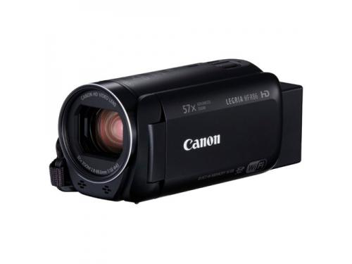 Видеокамера Canon LEGRIA HF R86, чёрная, вид 1