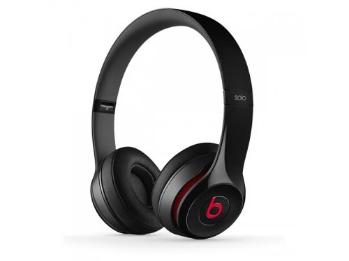 Гарнитура для телефона Beats Solo 2 (MH8W2ZE/A), чёрная, вид 1