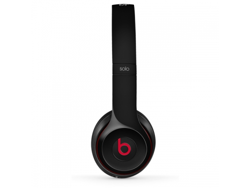 Гарнитура для телефона Beats Solo 2 (MH8W2ZE/A), чёрная, вид 3