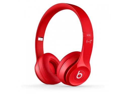 Гарнитура для телефона Beats Solo 2, красная, вид 1