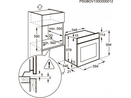 Духовой шкаф Electrolux EOB95450AV, вид 3