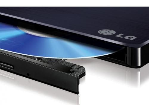 Оптический привод LG BP50NB40 (BD-RE / DVD±RW / CD-RW, slim), черный, вид 3