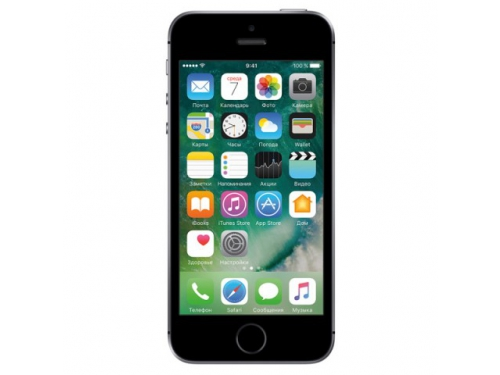 Смартфон Apple iPhone SE 128Gb, серый, вид 1